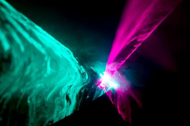 Abstrait laser optique