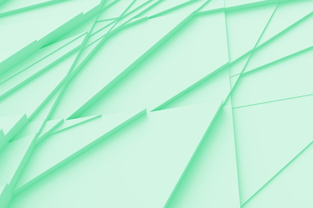 Abstrait de lignes droites disséquant la surface en