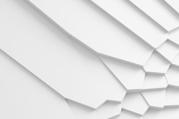 Abstrait de lignes droites disséquant la surface