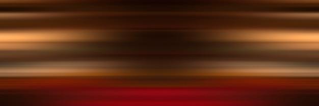 Abstrait des lignes horizontales rouges et orange.