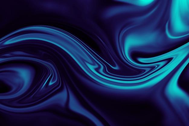 Abstrait de liner liquide coloré. texture abstraite d'acrylique liquide.