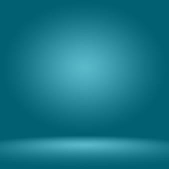 Abstrait lisse bleu foncé avec vignette noire studio bien utiliser comme arrière-plan, rapport d'activité, numérique, modèle de site web.