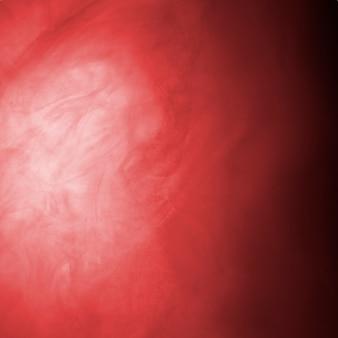 Abstrait lourd nuage de brume rouge
