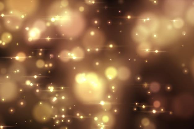 Abstrait lumières bokeh.