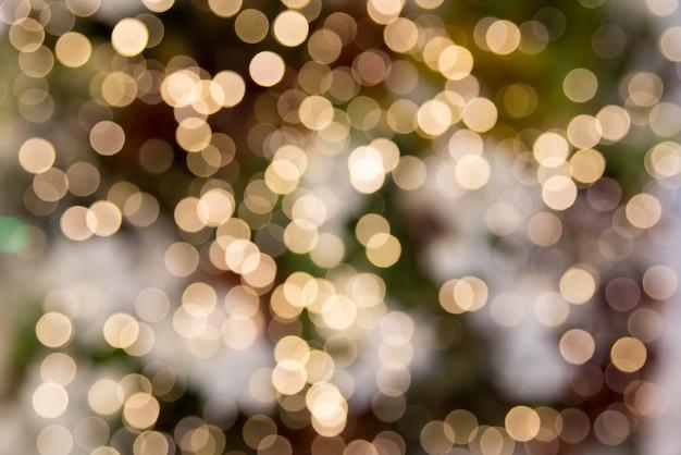 Abstrait de lumières bokeh.