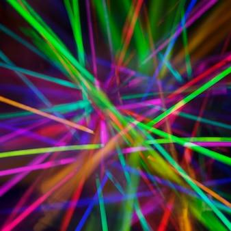 Abstrait avec des lumières colorées