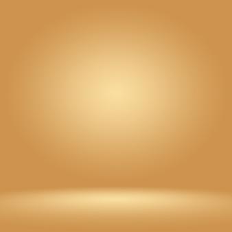 Abstrait luxe brun foncé et marron dégradé avec vignette marron frontière, toile de fond studio - bien utiliser comme fond de toile de fond, conseil, fond de studio.