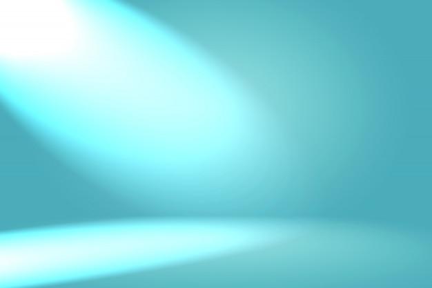 Abstrait luxe dégradé bleu. bleu foncé lisse avec vignette noire studio banner.