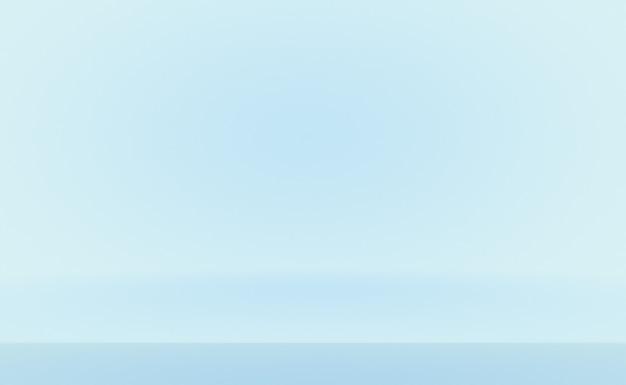 Abstrait luxe dégradé bleu. bleu foncé lisse avec vignette noire.