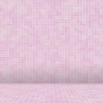 Abstrait luxe doux pastel ton rose mur carrelage verre modèle sans couture texture de fond de mosaïque pour le matériel de meubles.