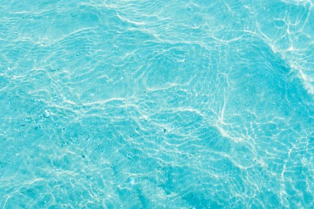 Abstrait de mer bleu clair