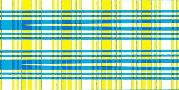 Abstrait avec motif tissu vintage de carrés multicolores