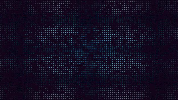 Abstrait de mouvement pixel rétro. illustration 3d géométrique dynamique élégante et luxueuse des années 80 et 90 de style memphis