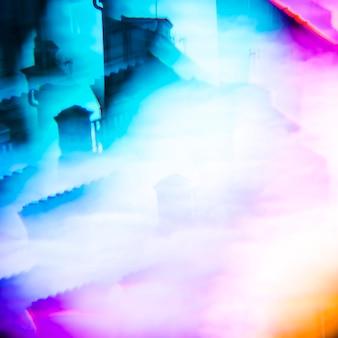 Abstrait multi couleur