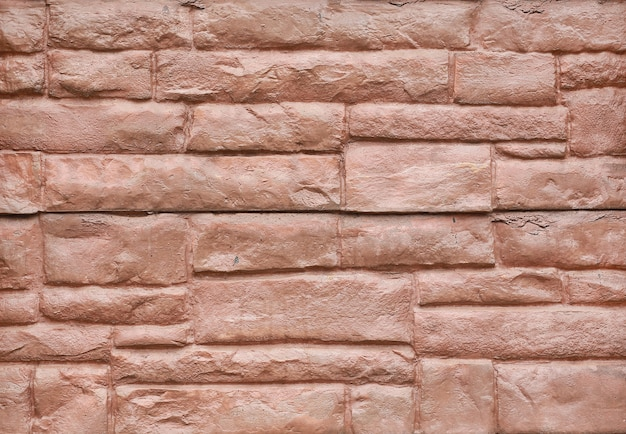 Abstrait de mur en pierre rouge