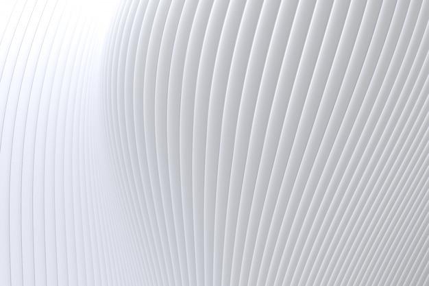 Abstrait mur vague architecture fond blanc, fond blanc pour présentation, portfolio, site web