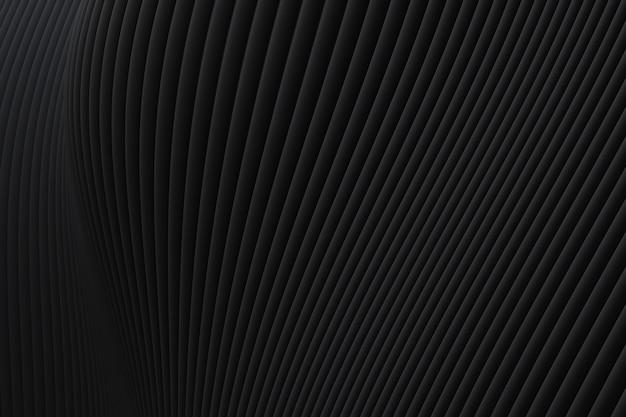 Abstrait mur vague architecture fond noir détails
