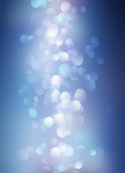 Abstrait de noël de lumières bokeh