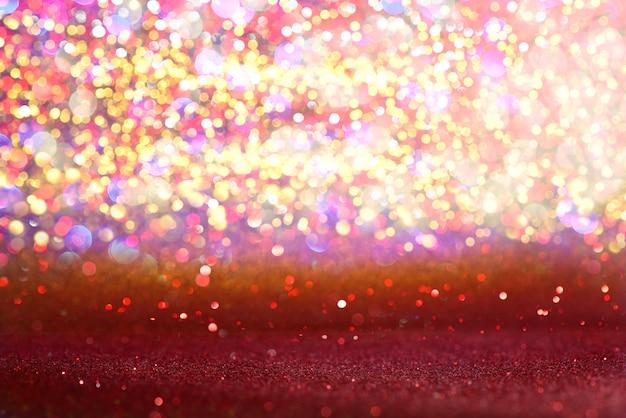 Abstrait noël texture paillettes rouge