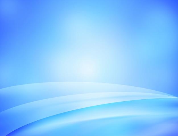 Abstrait numérique bleu.