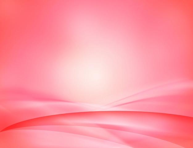 Abstrait numérique rose.