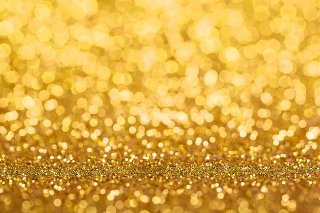 Abstrait de paillettes d'or