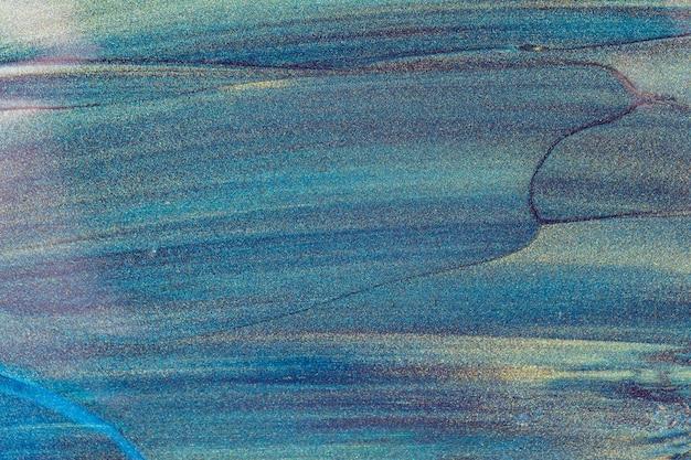 Abstrait de paillettes vert bleu foncé