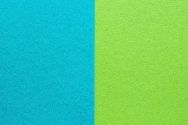 Abstrait de papier bleu et vert, texture
