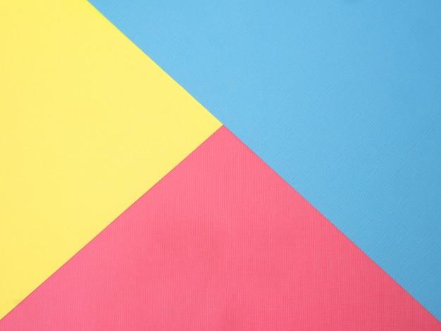 Abstrait de papier punchy pastel