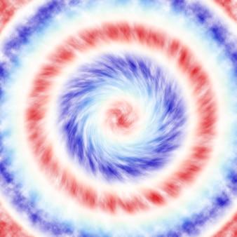 Abstrait patriotique rouge blanc et bleu flou fond de teinture pour la célébration de la fête, le vote, l'affiche de juillet, le mémorial, la fête du travail, le motif aquarelle, l'indépendance et l'élection présidentielle