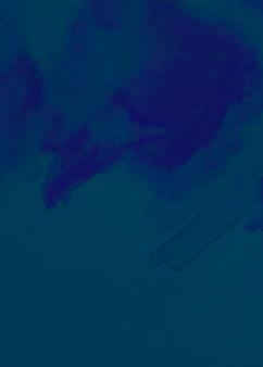 Abstrait peint bleu brossé