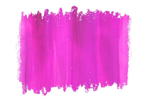 Abstrait peint à la main rose