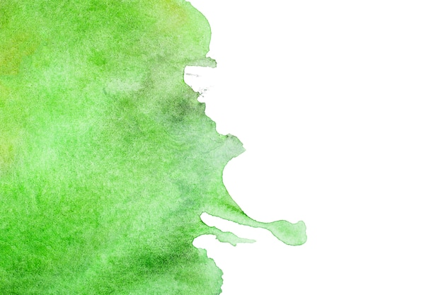 Abstrait peint vert