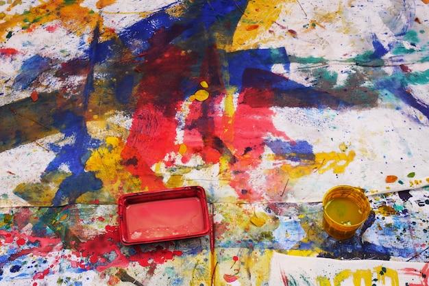 Abstrait peint