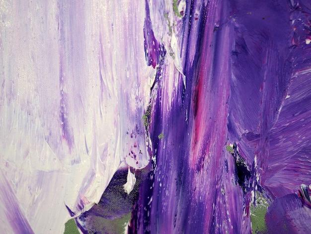 Abstrait de peinture à l'huile de couleur pourpre