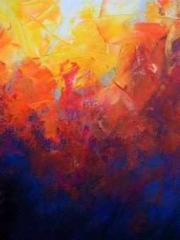 Abstrait peinture à l'huile