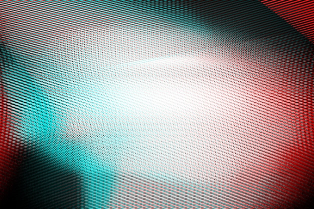 Abstrait photocopie texture fond, double exposition de couleur, glitch