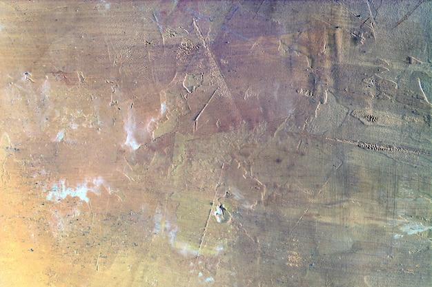 Abstrait de plâtre inégal.