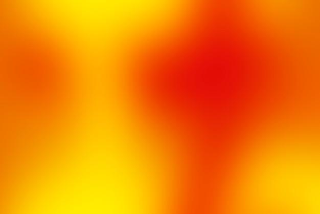 Abstrait pop floue avec des couleurs chaudes - rouge, orange et jaune