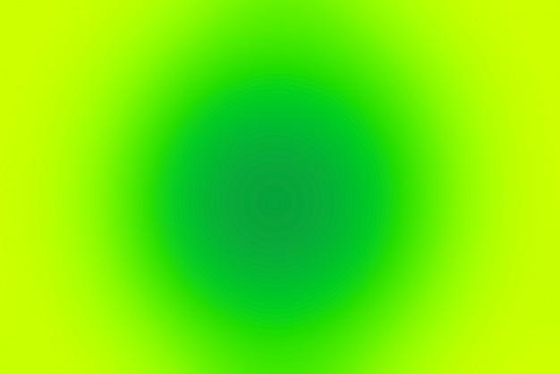 Abstrait pop floue avec des couleurs froides - vert et jaune