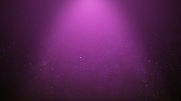 Abstrait populaire brillant rose particules de poussière étoiles étincelles