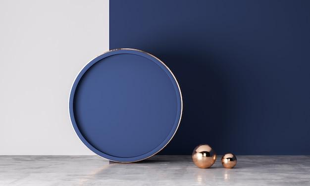 Abstrait pour la présentation du produit, affichage podium, design minimaliste