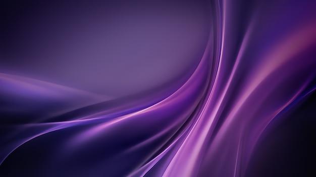 Abstrait avec des rayures de soie violette