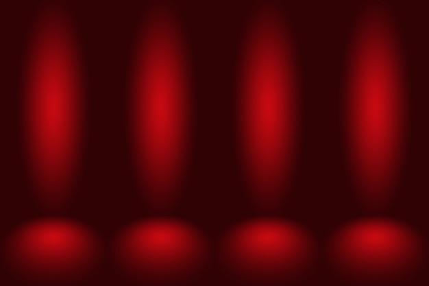 Abstrait rouge conception de mise en page de noël saint-valentin, studio, salle, modèle web, rapport d'activité avec une couleur de dégradé de cercle lisse.