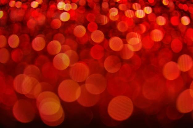 Abstrait rouge glister bokeh fond concept copie espace brillant lumières brouillées, noël b