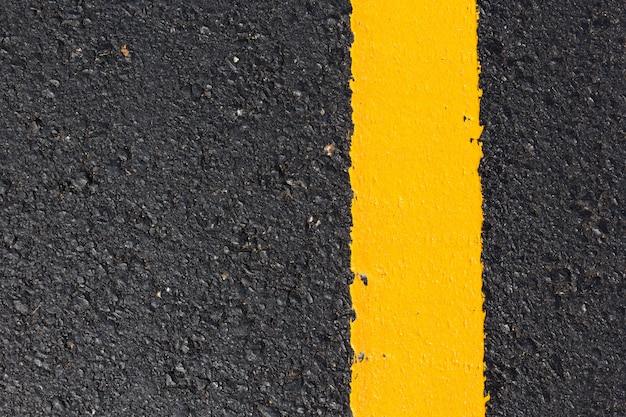 Abstrait route asphaltée