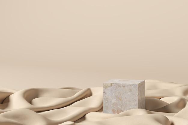 Abstrait, scène pour l'affichage du produit. rendu 3d