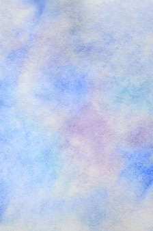 Abstrait sous la forme de traits et de gouttes d'aquarelle
