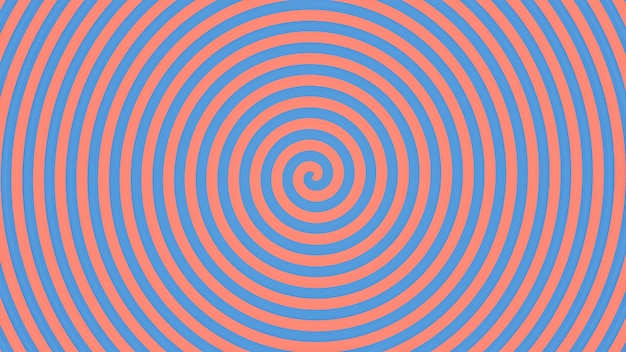 Abstrait spirale bleue et rose