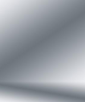 Abstrait studio gris vide lisse bien utiliser comme arrière-plan rapport d'affaires modèle de site web numérique toile de fond